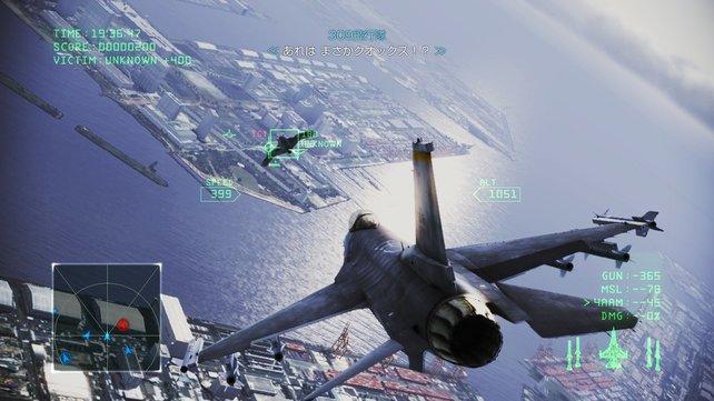 Auch bekannte Marken wie Ace Combat kommen künftig gratis auf den Markt.