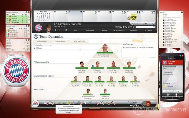 Kapitän Schweinsteiger an der Spitze der Bayern-Hierarchie.
