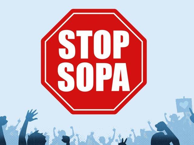 Im Netz formiert sich Widerstand gegen SOPA.