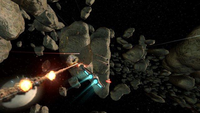 Die Raumkämpfe machen zumindest für kurze Zeit sehr viel Spaß.