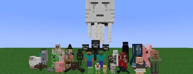 Minecraft Über Plattformgrenzen Hinweg Welten Erschaffen - Minecraft gemeinsam spielen