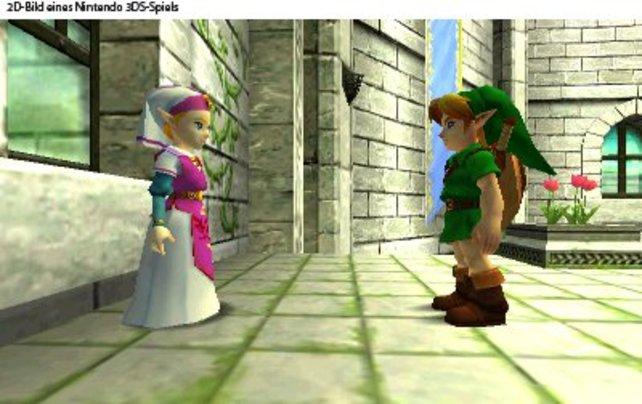 Hier seht ihr die überarbeiteten Gesichter - Zelda und Link sehen detaillierter aus als früher.