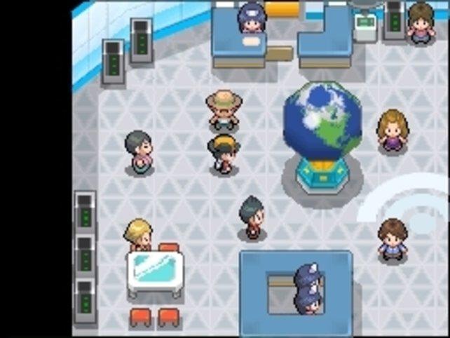 In der Wi-Fi Plaza könnt ihr gegen Freunde oder Fremde online antreten.