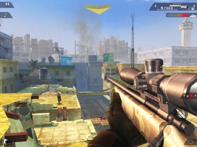 Eine der Missionen: Aus weiter Ferne mit dem Scharfschützengewehr ballern.