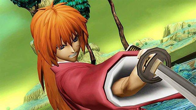 Manche Helden wie Kenshin verlassen sich lieber auf eine harte Klinge.