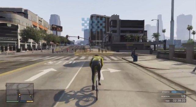 In GTA 5 macht ein Triathlon Spaß.