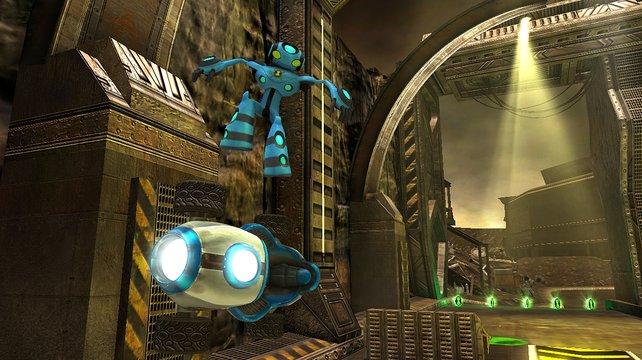 Wenn ihr über Schanzen springt, dürft ihr Tricks in der Luft vollführen (Bild aus der Wii-Version).
