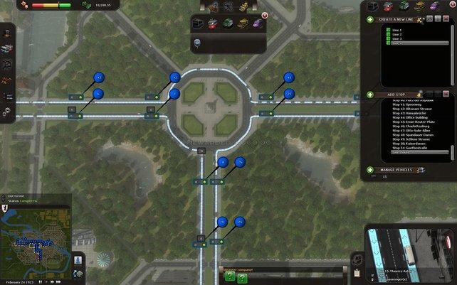 Eine effiziente Buslinie zu bauen ist eine kniffilige Angelegenheit.