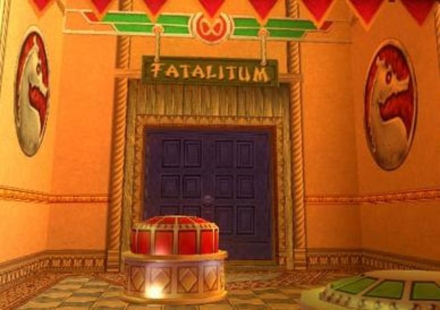 Komm lass uns Freunde sein: die Fatalitum-Arena.
