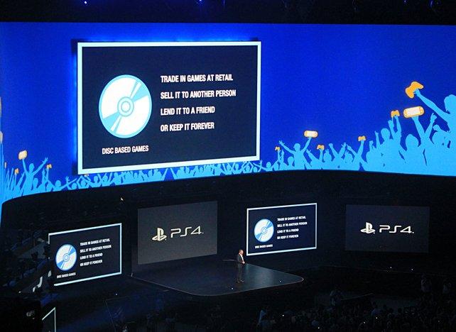 Sony verkündet auf der E3-Pressekonferenz keinerlei Beschränkungen. Microsoft zieht nun nach.