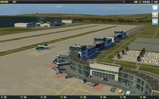 Ein leerer Flughafen ist ein guter Flughafen.