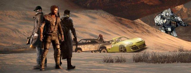 Figuren aus Watch Dogs, Mad Max, The Order, Titanfall … das erwartet euch demnächst.