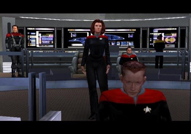 Wem hetzt Captain Janeway das Hazard-Team als Nächstes auf den Hals (Star Trek Voyager: Elite Force)?