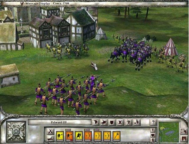 Zwei Armeen treffen aufeinander