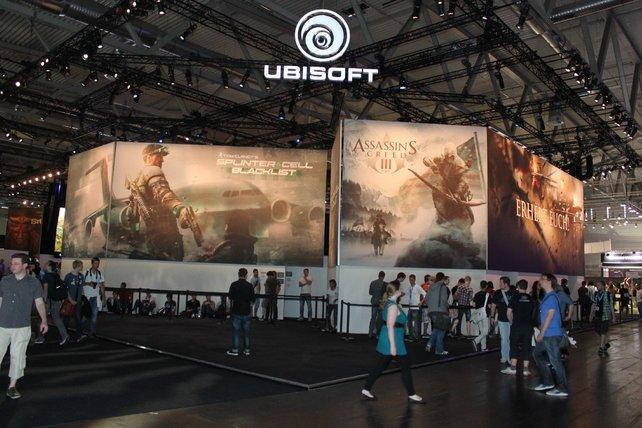 Ubisoft hat die meisten Anspielstationen der Wii U zu bieten.