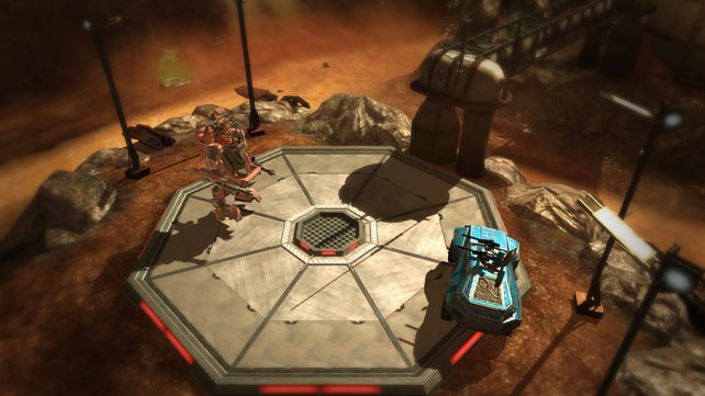 Zwei Einheiten stehen sich im Online-Duell gegenüber.