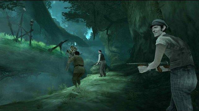 Mitten im Dschungel