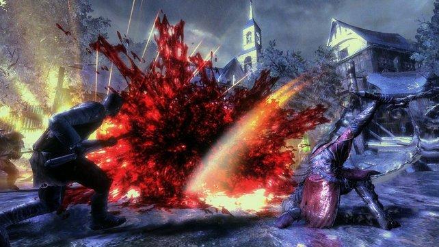 Wir dachten immer, dass Dämonen nicht real sind und so auch nicht bluten können. Komisch.