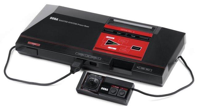 Der Vorgänger des Sega Mega Drive: Das Sega Master System.