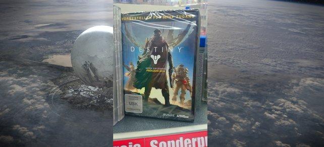Das ist die Vorbesteller-Box von Destiny.