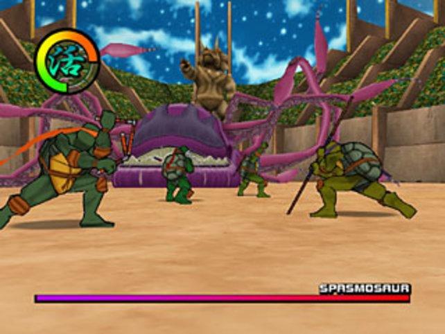 Kampf gegen den Spasmosaur