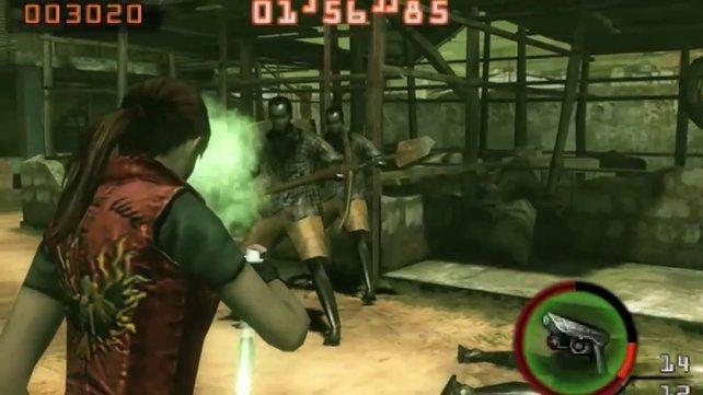 Resident Evil - Mercenaries ist einer der verheißungsvollsten 3DS-Spiele.