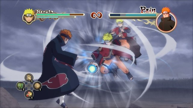 Der Klassiker im neuen Shippuden-Gewand! Naruto gegen Piercing-Protz Pain.