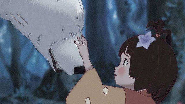 Ein geheimnisvoller Polarbär steht der kleinen Kao im Kampf gegen einen Dämonen zur Seite.