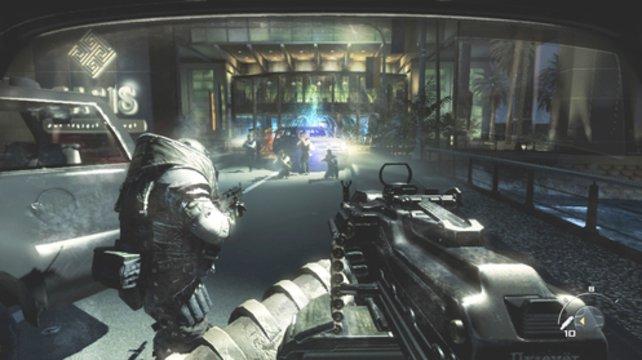 Die wahnwitzige Handlung führt ihr euch unter anderem nach Paris (Call of Duty - Modern Warfare 3).