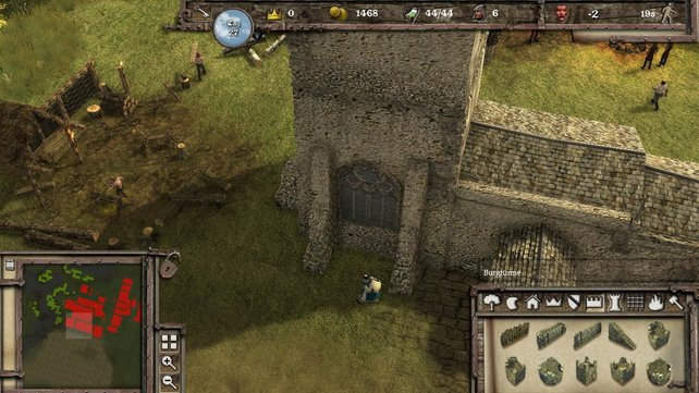 Zahlreiche Gestaltungsmöglichkeiten für eure individuelle Burg.