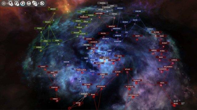 Erobert und kolonisiert Sternensysteme, um die Galaxie zu beherrschen.
