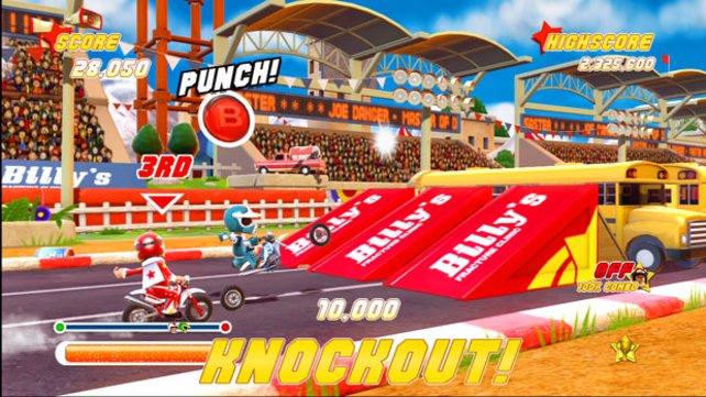 Endlich tobt sich Stuntman Joe Danger auch auf der 360 aus.