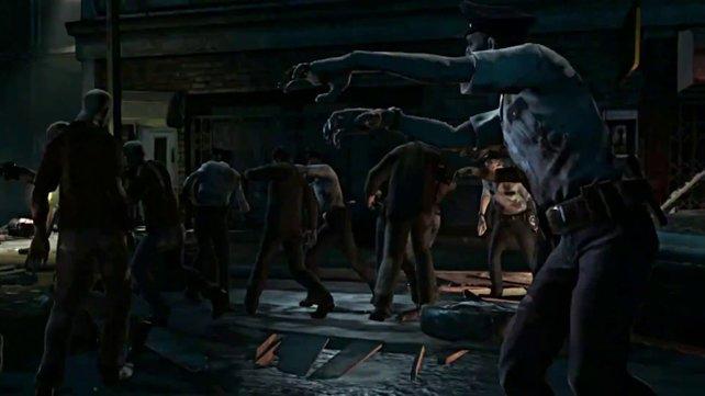 Die Zombies sind das Werk des Pharmaunternehmens Umbrella Cooperation.
