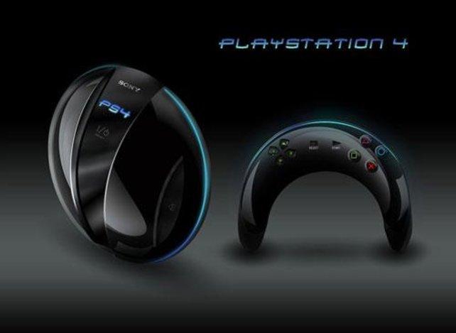 So könnte die neue PS4 aussehen. Eine Mischung aus Frisby und Bumerang.