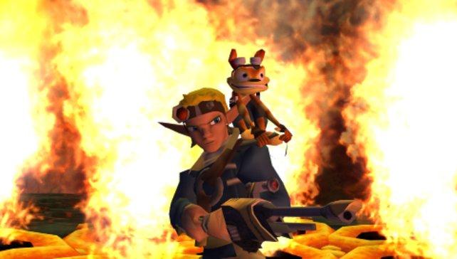 Diese beiden gehen gemeinsam durchs Feuer.