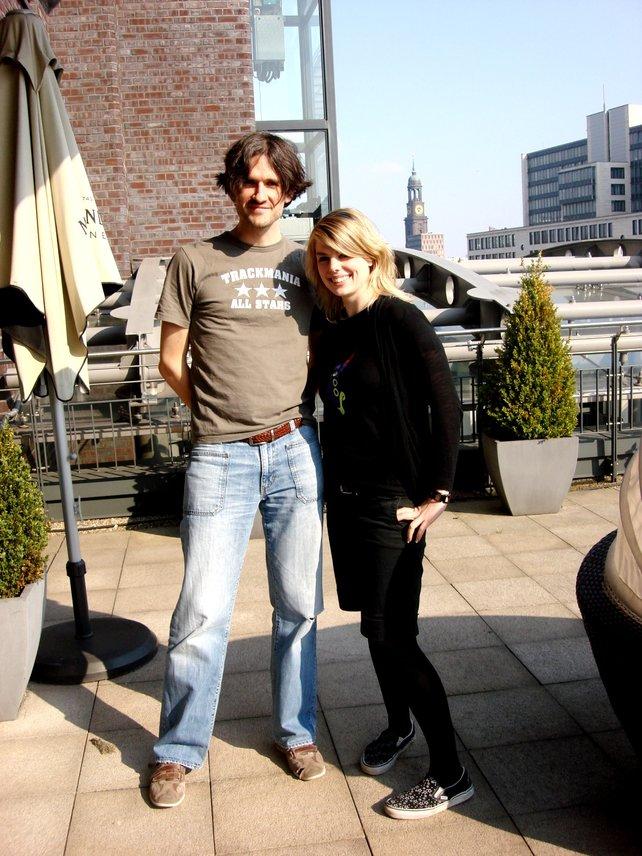 In Hamburg trifft spieletipps-Redakteurin Trackmania-Entwickler Florent Castelnerac.