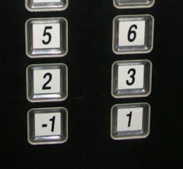 """Die Zahl """"4"""" ist eine Unglückszahl in Japan. Daher gibt es dort keine vierten Etagen."""