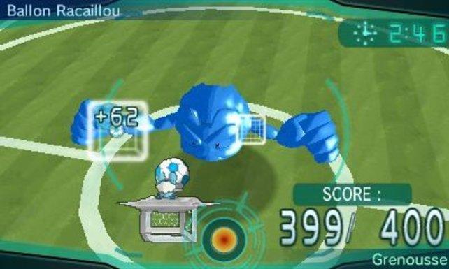 Fußball sieht bei Pokémon ein wenig anders aus.