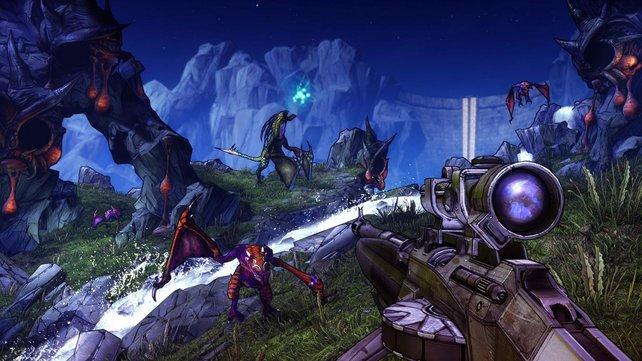 Ausbaufähige Waffen und Talente erleichtern das Bildschirmleben.