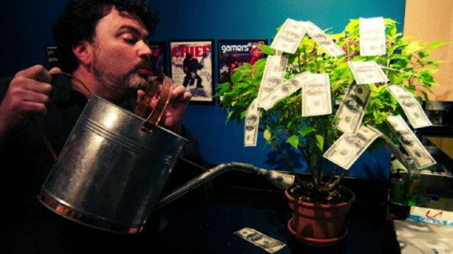Über zu wenig Geld für Double Fine Adventure braucht sich Entwickler Tim Schafer nicht zu beklagen.