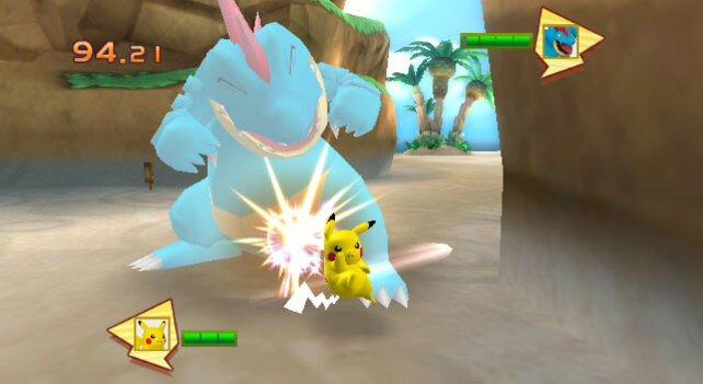 Mit genügend Training nimmt es Pikachu mit jedem Gegner auf.