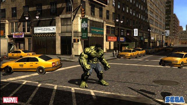 Der Nachbau von New York für das Spiel ist weniger gelunger.