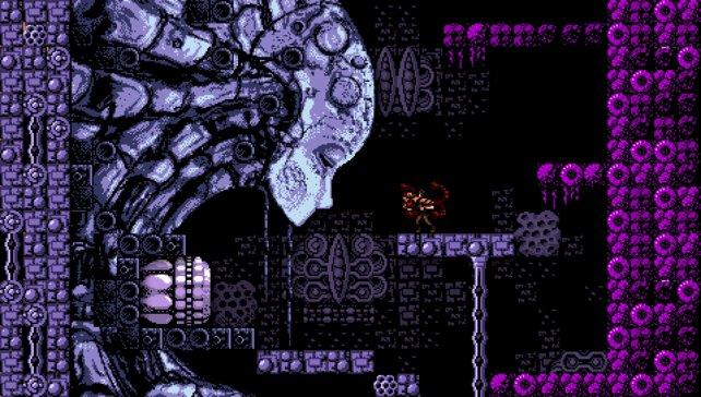 Axiom Verge ist ein 2D-Ballerspiel im Stil von Metroid.