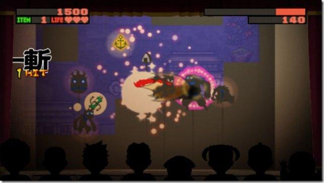 Der originelle Scherenschnitt-Stil gibt Nin2-Jump ein eigenes Flair.
