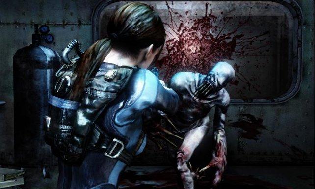 Auch Resident Evil Revelations ist nur was für erwachsene Spieler.