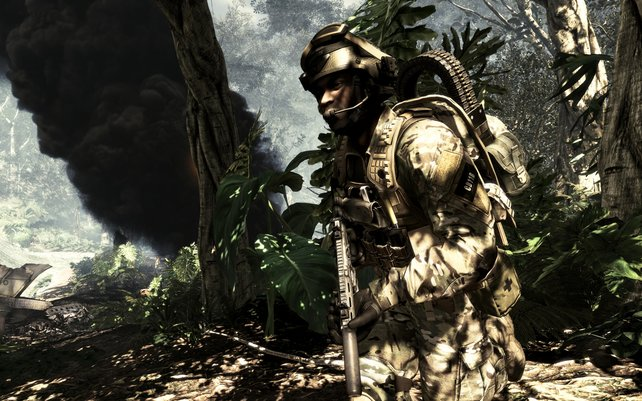 Beeindruckende Details: Euer Soldat im Kampfeinsatz!