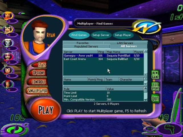 Zahlreiche Einstellungen und Multiplayermodes
