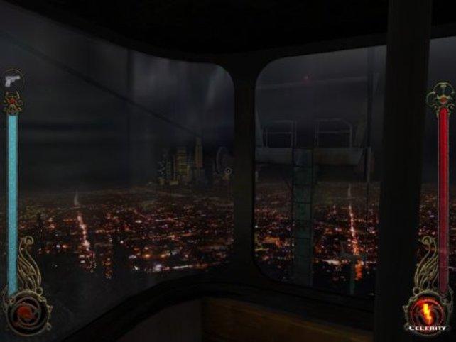 Mit der Seilbahn, Aussicht auf Downtown L.A.