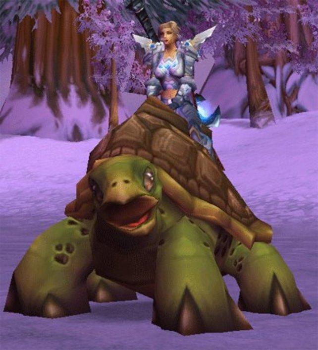 Der Beweis: Auch in World of Warcraft kann man Panzer fahren.