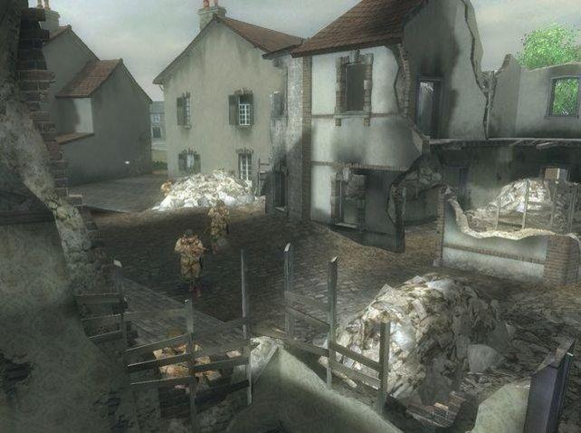 Die Hauptschaupunkte sind zerstörte Städte